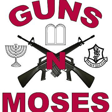 Guns 'n Moses by Spacestuffplus