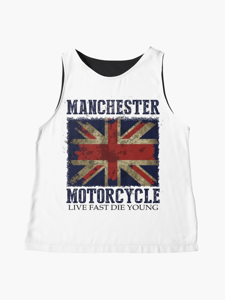 Alternate view of MANCHESTER MOTORCYCLE Contrast Tank