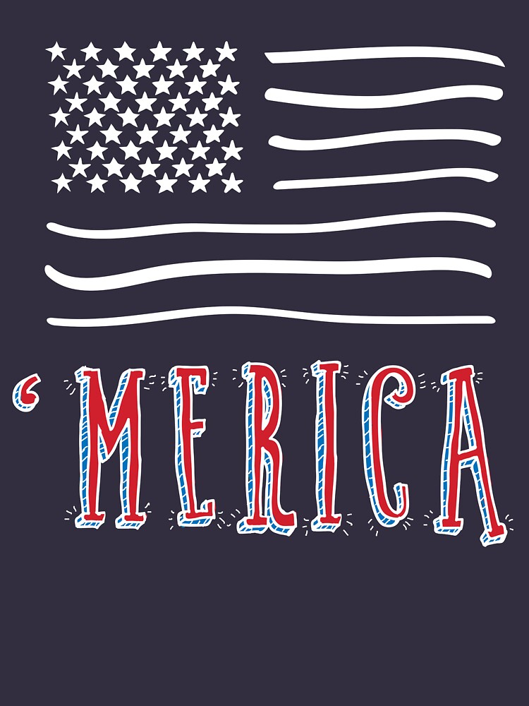 4th of July Shirt Merica Flag T Shirt USA Proud by thehadgaddad