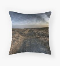 Morrison's Beach Throw Pillow