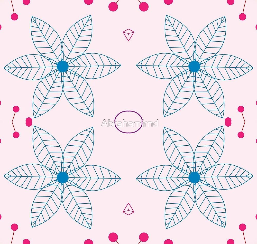 pattern scrapbooking natural scrapbook decoration floral design seamless colorful repeat by Abrahamjrnd