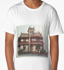 Phryne Fisher's house 'Wardlow'©.  Long T-Shirt