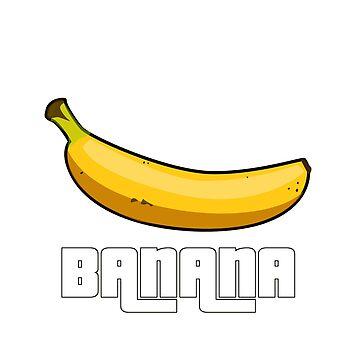 Banana by Freezel