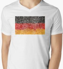germany V-Neck T-Shirt