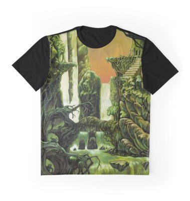 Otherworldly jungle