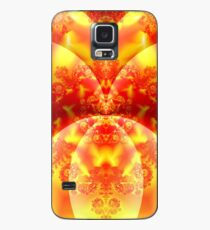 Orange You Happy to Get this Card? Case/Skin for Samsung Galaxy