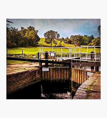 Fladbury Lock.  Photographic Print
