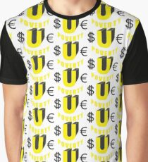 $UE Poverty Graphic T-Shirt
