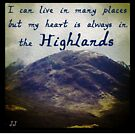 A Highland Mountain by jennyjeffries