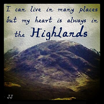 A Highland Mountain by jennyjeffries