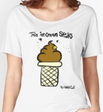 This ice cream Stinks Women's Relaxed Fit T-Shirt