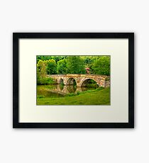Kirkham Bridge - River Derwent Framed Print