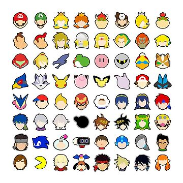 Smash Ultimate Character Icons by TomsTops
