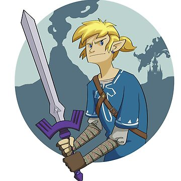 BOTW Link  by stormthief19
