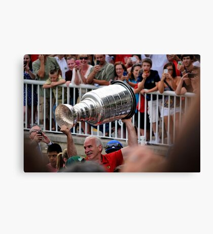 The Stanley Cup Canvas Print