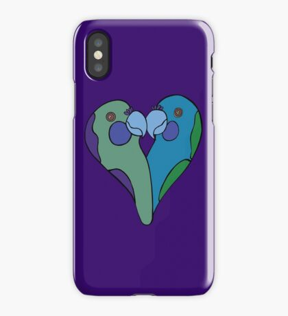 Parrot Heart iPhone Case/Skin