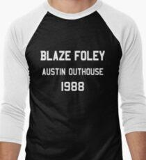 Blaze Foley - Austin Outhouse 1988 Men's Baseball ¾ T-Shirt