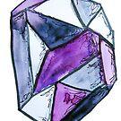 Asexueller und Grau-Sexueller Stolz-Kristall von Kendra Kantor