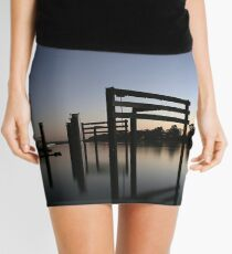 Murray River Reflections Mini Skirt
