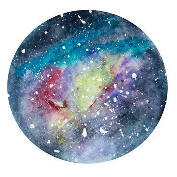 Circular Galaxy by KendraJKantor
