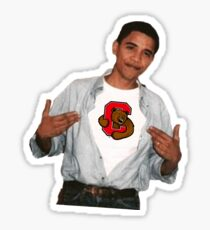 Barack Obama Cornell University Sticker