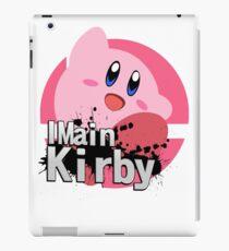 Super Smash Bros. Ultimate - I Main Kirby iPad Case/Skin