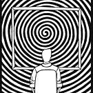 Person Watches Spiral by angeldramos