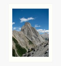 Mt Louis from Coreys Pass Art Print