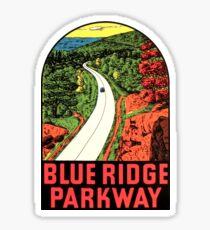 Pegatina Blue Ridge Parkway 2 Vintage Travel Decal