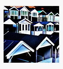 Round the Houses Photographic Print