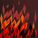 Fire by marybedy
