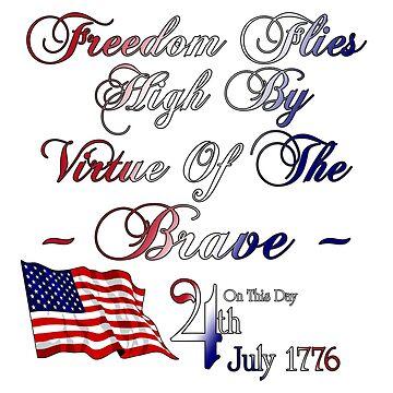 Freedom Flies High 4th Of July by xzendor7