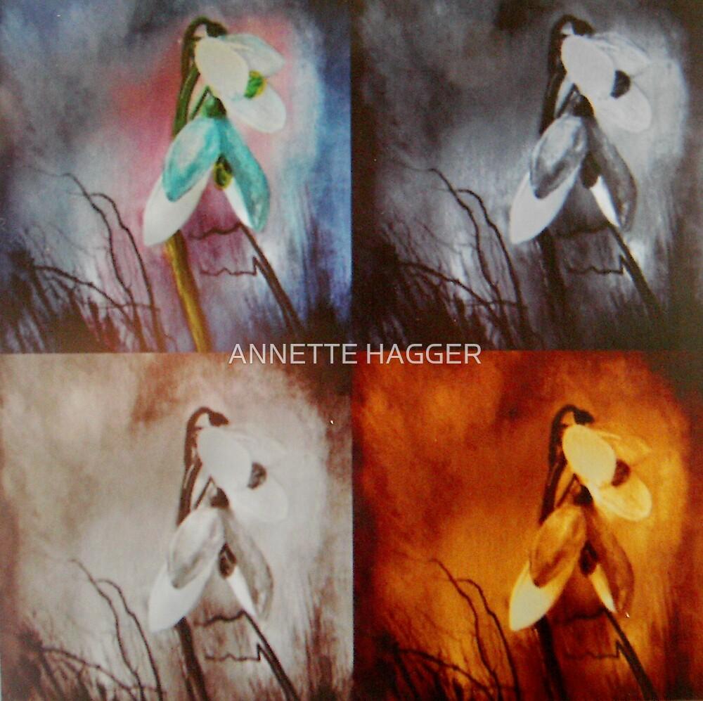 SNOWDROPS by ANNETTE HAGGER