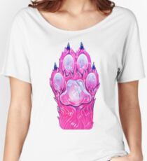 Cotton Candy Paw Women's Relaxed Fit T-Shirt