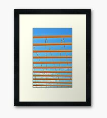 Skyline Drive Framed Print