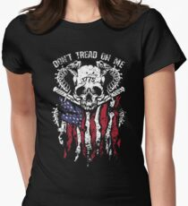 Don't Tread On Me Women's Fitted T-Shirt