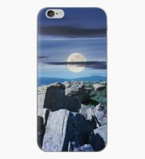 time change over the panorama of Runa mountain iPhone Case