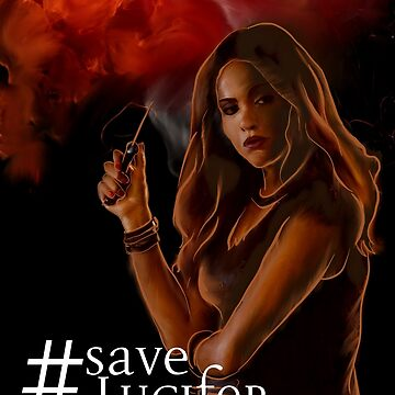 #SaveLucifer  -  Lucifer - Mazikeen by nerd-girl-art