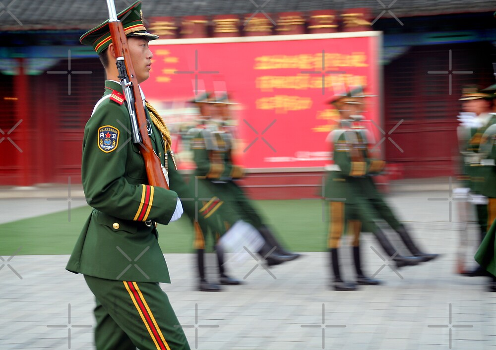 Red Army, Beijing, China by Keith Molloy