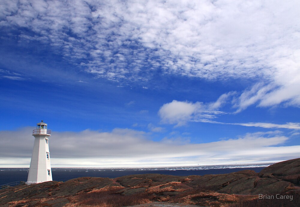 Big Sky Lighthouse by Brian Carey