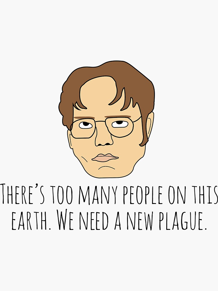 Dwight the Office Plague by therealcc