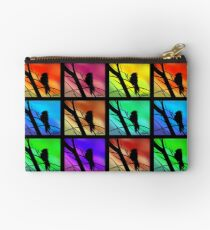 Andy Warhol Inspired Birds Studio Pouch