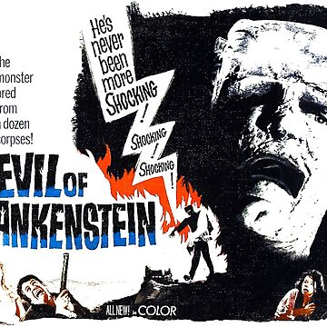 The Evil of Frankenstein by Black---Rainbow