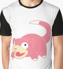 Pokemon - Slowpoke White Graphic T-Shirt