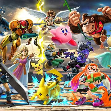 Super Smash Bros. Ultimate Banner - Part 2 by Toshiyena