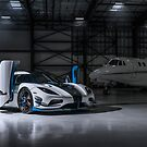 Agera RS1 Private Jet by GrubbsPhoto