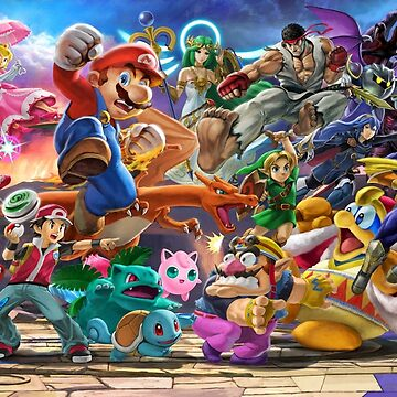 Super Smash Bros. Ultimate Banner - Part 3 by Toshiyena