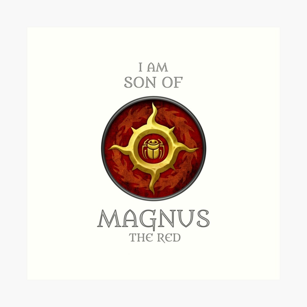 THOUSAND SONS - SONS OF MAGNUS Art Print