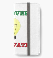 Discover don't Innovate. iPhone Wallet/Case/Skin