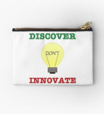 Discover don't Innovate. Studio Pouch